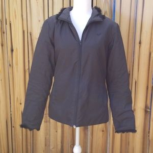 Roxy/Quicksilver fuzzy jacket
